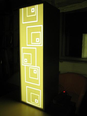 lampa panou depa material compozit